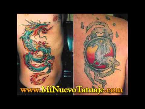 Mejores tatuajes dragones imagenes youtube - Dibujos tribales para tatuar ...