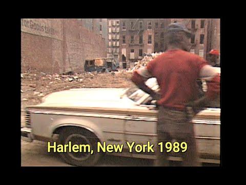 HARLEM NEW YORK 1989 CRACK EPIDEMIC VS HARLEM HOODS 2020
