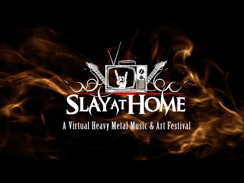 SLAY AT HOME Virtual Festival Line Up Trailer | Metal Injection