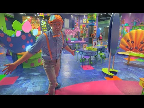 Blippi Tours a Children's Museum | Learning Videos for Toddl