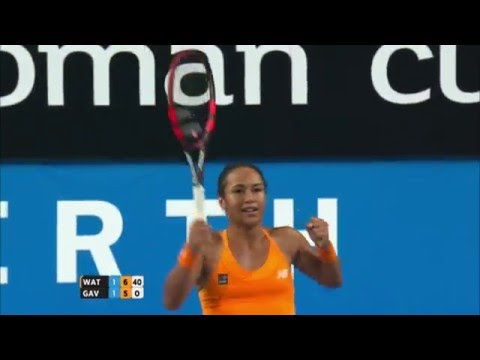 Heather Watson v Daria Gavrilova highlights (RR)