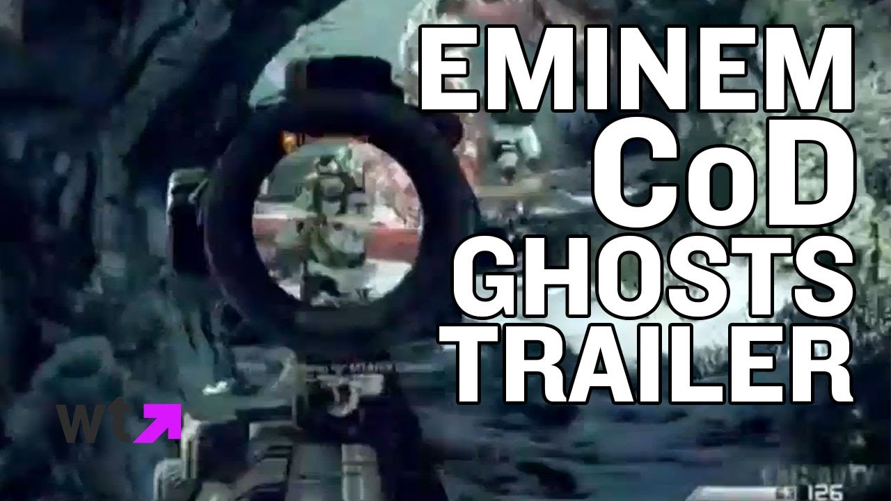 Eminem Debuts 'Survival' in CoD Ghosts Trailer | What's Trending Now