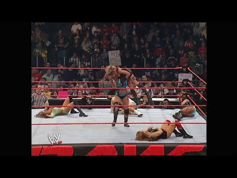 02-20-06 | Diva Battle Royal - 1 Contenders Match | WWE Raw