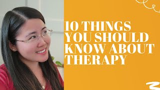 10 Things You Wish You Knew Before Starting Therapy - Shared by Psychologist