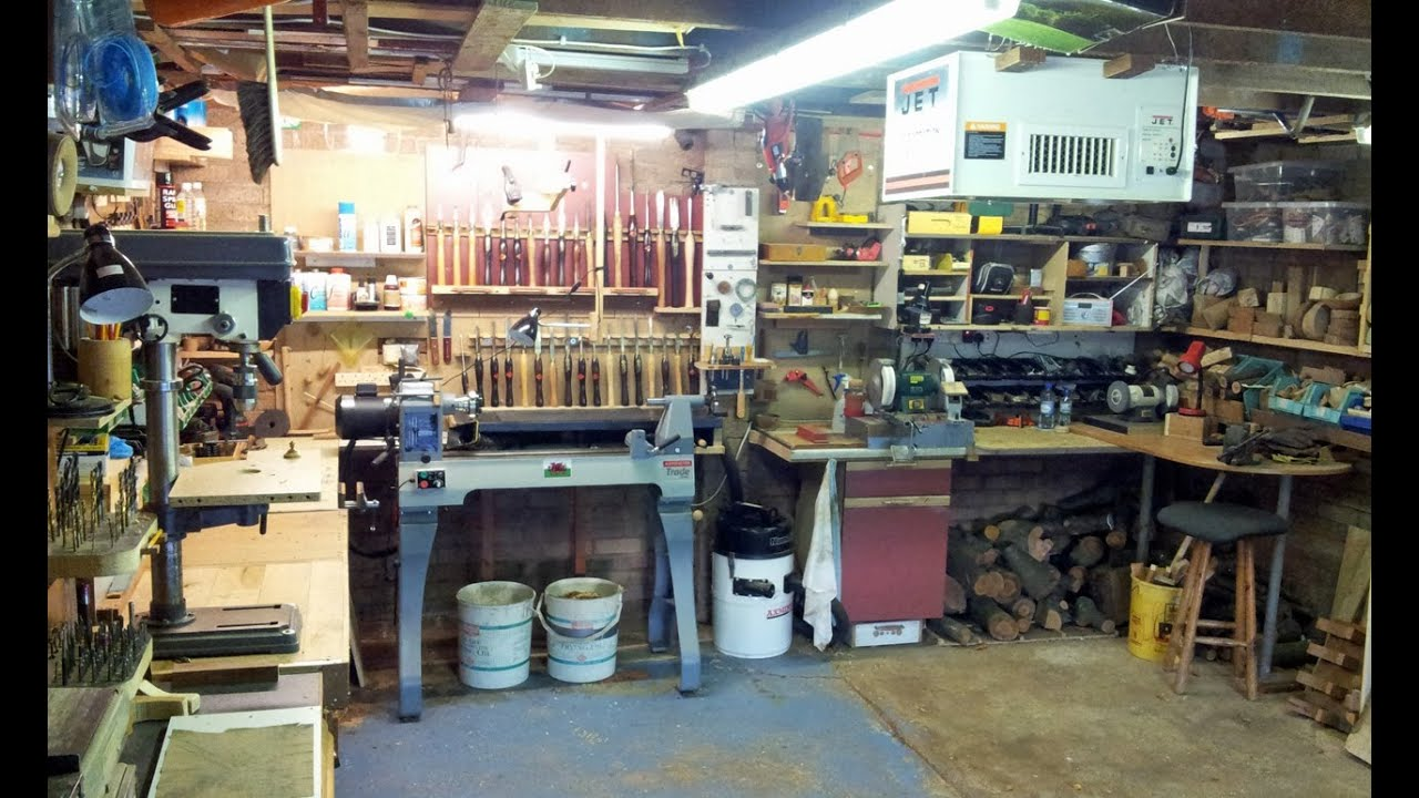 Wood Turning  Secrets for a clean Workshop  YouTube