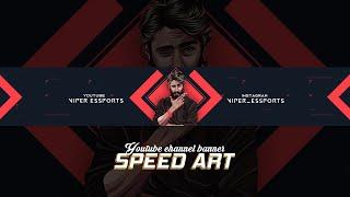 Yt Channel Banner l Speed Art