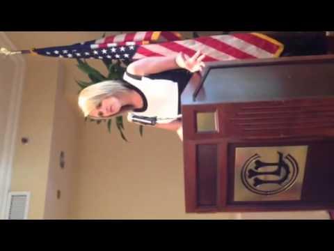 Lori Ann LaRocco speaking at Union League of Chicago pt 2