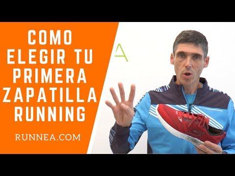 Cómo elegir las zapatillas de running para empezar a correr