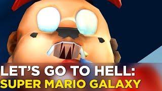Nick and Griffin Examine Mario's Teeth in SUPER MARIO GALAXY — Let's Go To Hell