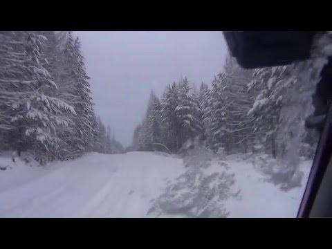 Идем на Ямал. Часть 3. Зимник Салехард-Надым