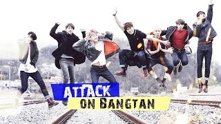 ► BTS ✖ Attack on Bangtan [Funny moments] w\Victoria Chan
