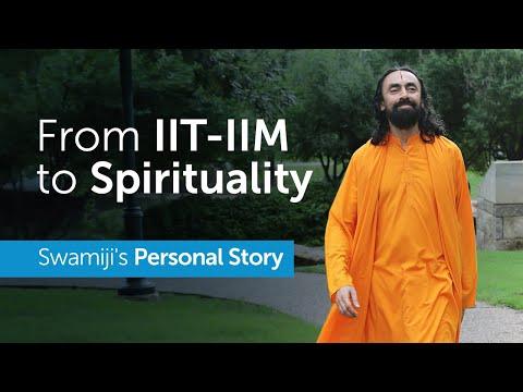From IIT-IIM to Spirituality at 23 - Swami Mukundananda's Inspiring Personal Story | MUST WATCH