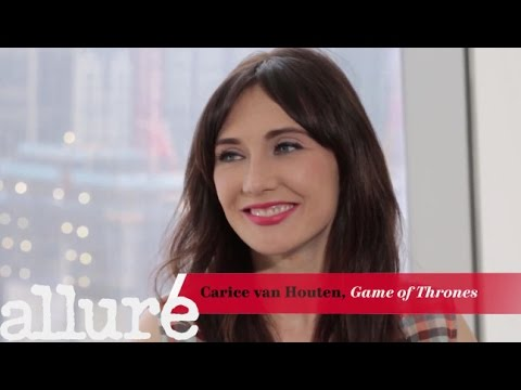 Game of Thrones † Carice van Houton on Being a Beauty Junkie