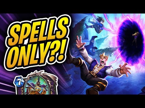 Winning With SPELLS ONLY?! Rafaam without Rafaam? Plot Twist Warlock | Rise of Shadows | Hearthstone