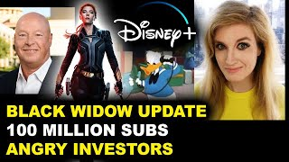 Disney Plus 100 Million Subscribers, Black Widow Update Theaters Only, Investors Upset Gina Carano