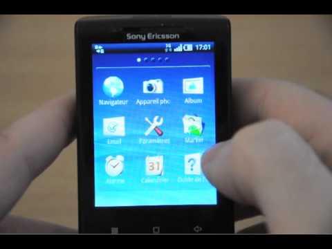 Test du Sony Ericsson Xperia X10 mini - partie 1/2 - par Test-Mobile.fr