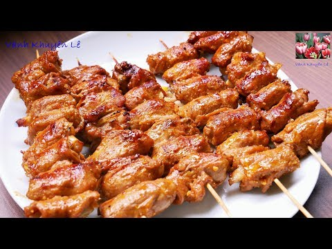 THỊT NƯỚNG KIM TIỀN - Mẹo ướp Thịt nướng thơm ngon, bóng mềm, KHÔNG khô, KHÔNG cháy by Vanh Khuyen