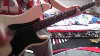 blink 182- The Rock Show (bass cover)