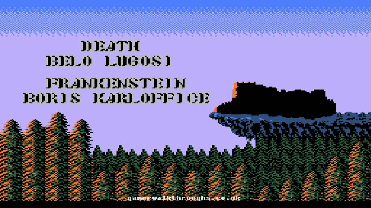 Image result for castlevania nes credits