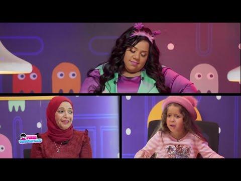 هتموت من الضحك مع شيماء سيف وهي بتوقع بين الطفلة مليكة ومامتها😜😂