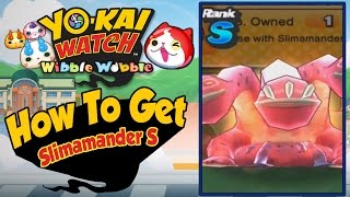 Yo-Kai Watch Wibble Wobble - How To Get Slimamander & Slimamander S! [iOS Android Gameplay]