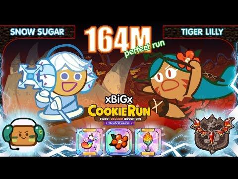 Cookie Run 164M [EP.3] : SnowSugar+TigerLilly+AWOL : น้ำตาลหิมะ+สาวเจ้าป่า+บิสกิตทหาร