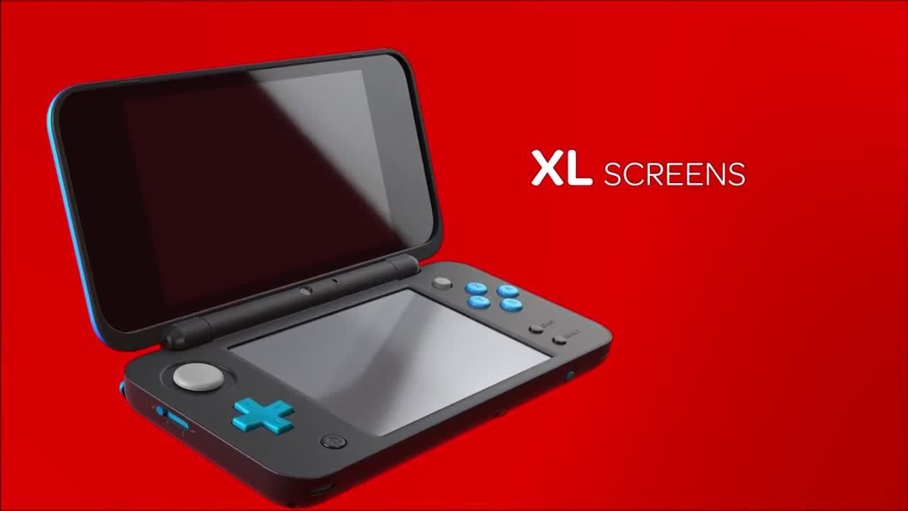 Our new nintendo 2ds xl reactions youtube for Housse new 2ds xl
