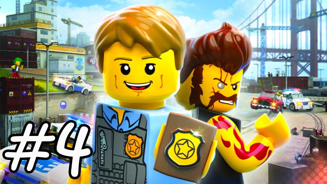 Lego City Undercover Legos En Espanol Videos De Juegos De