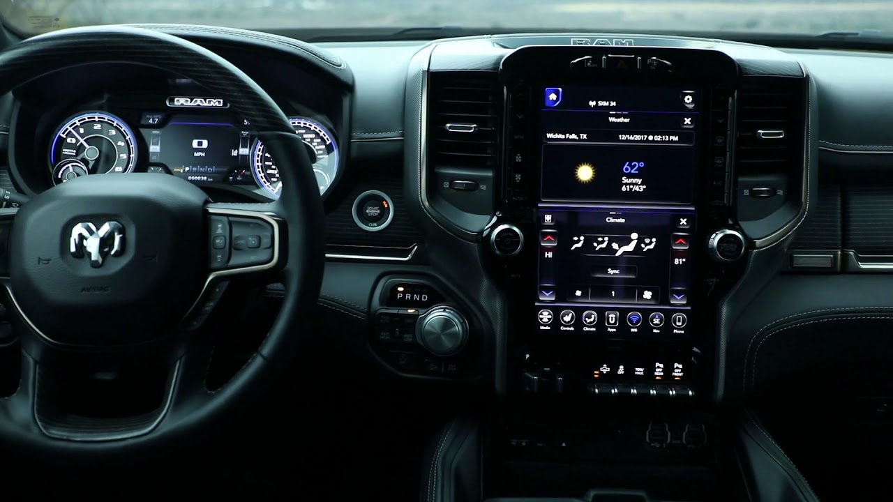 2019 Ram 1500 Limited Interior Design  YouTube