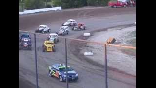 Heat race Brewerton Speedway 8-7-15