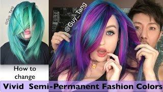 How to change Vivid Semi-Permanent Fashion Colors