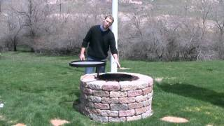 Backyard Fire-pit/grill - By Volcano Grills