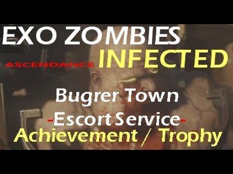 escort duty achievement