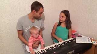 Уроки на синтезаторе