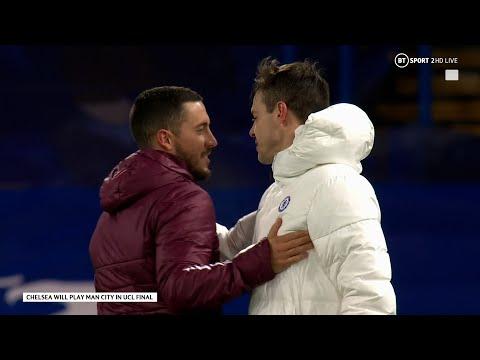 El madridismo, indignado con Hazard por sus carcajadas tras la derrota en Stamford Bridge