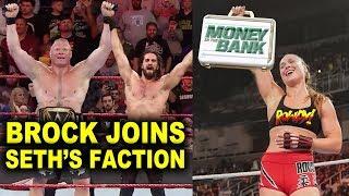 10 New WWE Plans for 2020 - Brock Lesnar Joins Seth Rollins' Faction