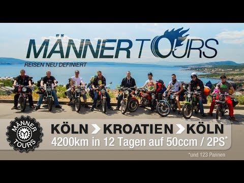 Mopedtour von Köln nach Kroatien mit der Honda CB 50 J