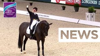 Isabell Werth defends Dressage title - Graves comes in 2nd | FEI World Cup™ Dressage Final