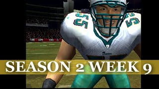 DOWN TO THE WIRE - MADDEN 2004 DOLPHINS FRANCHISE VS PATRIOTS S2W9