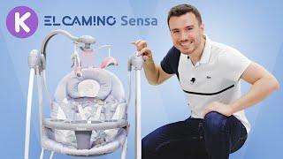 Шезлонг-качель El Camino Sensa. Видео обзор шезлонг / качалка / укачивающий центр для новорожденного