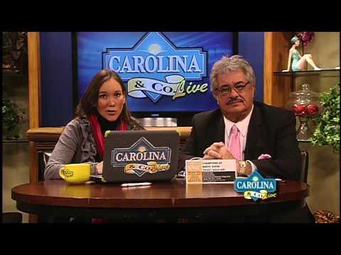 Carolina & Company LIVE 1/16/14 with Amanda Kinseth and Cecil Chandler