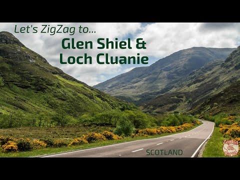 A87 Road to Skye Bridge via Glen Shiel and Loch Cluanie