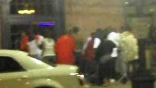 fight aftermath at KoKo Pellis in SHreveport La