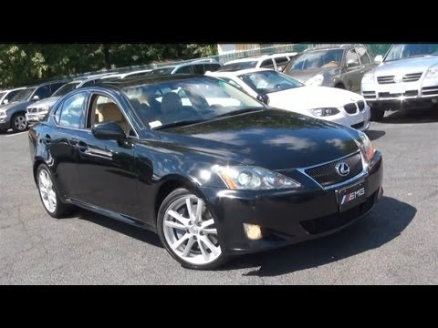 2007 Lexus IS350 Vehicle Overview - YouTube