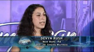 American Idol 10 - Devyn Rush - New Jersey Auditions
