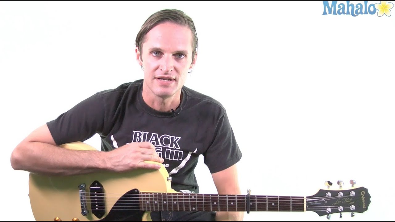 How To Play Sunny Afternoon By The Kinks On Guitar Youtube