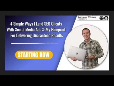 Supremacy Webinars Presents | Funnel Consultant Society Webinar 1 of 3