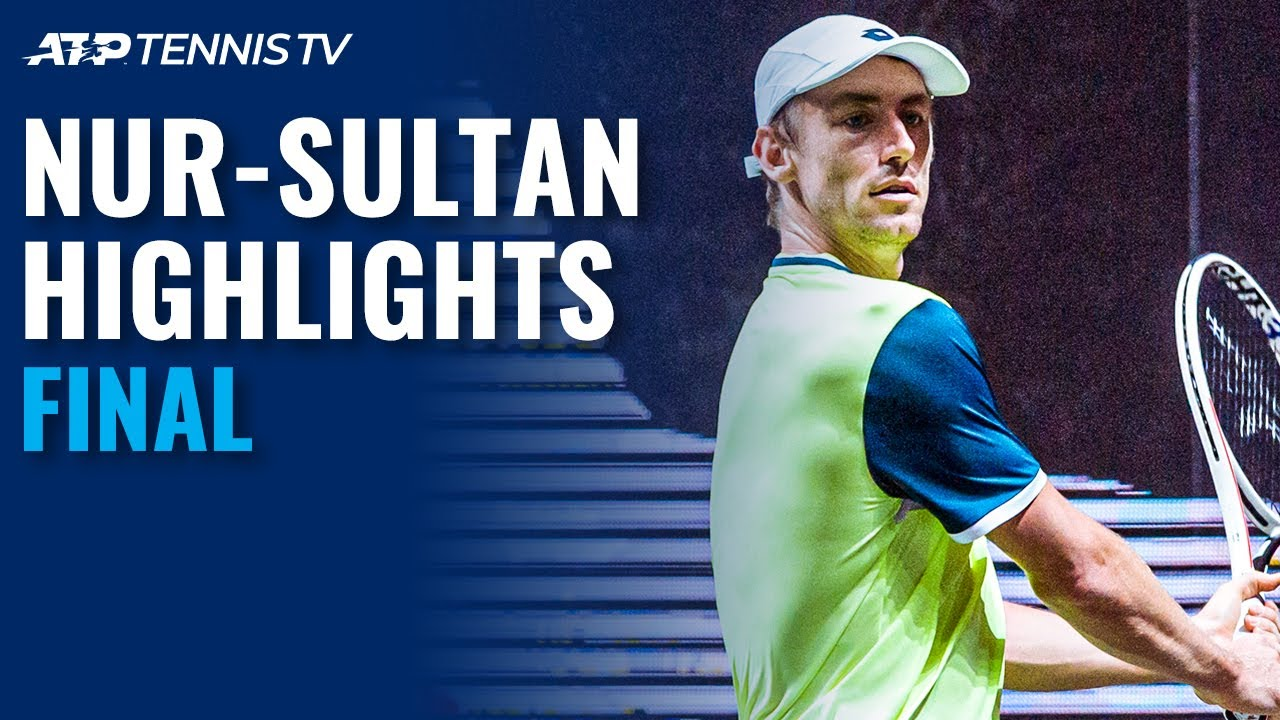 Adrian Mannarino vs John Millman | Nur-Sultan 2020 Final Highlights
