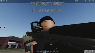 [ROBLOX] British Army - Guarding an Allied Brigadier General - UKSF