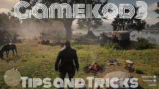 Red Dead Redemption 2: Tips and Tricks for Your Camp and Horse!